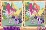 My Little Pony: Friendship is Magic - Discover the Differences Browser The game begins by showing us exactly what it wants us to do throughout.