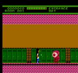 Ghoul School NES You can enter lockers to avoid monsters