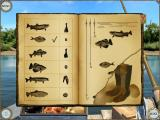 Treasure Seekers: Visions of Gold iPad Book on bait and depth for which fish