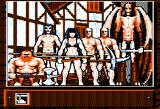 Knights of Legend Apple II The party seems in dire need of clothes