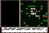 Knights of Legend Apple II Combat message