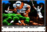 Knights of Legend Apple II There's even a victory picture