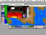 SimEarth: The Living Planet Macintosh Geosphere model (color)