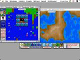 SimEarth: The Living Planet Macintosh Disaster strikes (color)