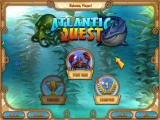 Atlantic Quest Windows Main menu