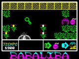 Babaliba ZX Spectrum Here I used the same technique to safely get the key