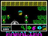 Babaliba ZX Spectrum The key is now safely in the inventory