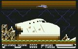 ThunderJaws Commodore 64 ...including the wreckage of an airplane.