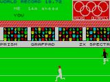 Micro Olympics ZX Spectrum Event 1: Running