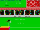 Micro Olympics ZX Spectrum Event 6: High Jump