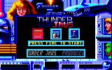 ThunderJaws Amstrad CPC Menu