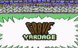 Grave Yardage Commodore 64 Title