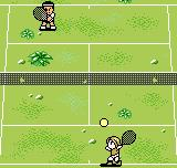 Pocket Tennis Neo Geo Pocket Color The green court here doesn't exactly look like the one from Wimbledon