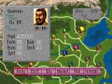 Romance of the Three Kingdoms IV: Wall of Fire SEGA Saturn Main ingame options
