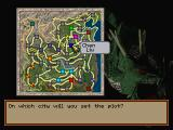 Romance of the Three Kingdoms IV: Wall of Fire SEGA Saturn Map - where to conduct the plot?