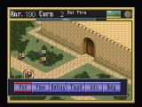 Romance of the Three Kingdoms IV: Wall of Fire SEGA Saturn Battle options