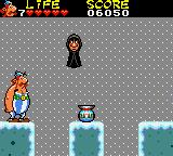 Astérix and the Secret Mission Game Gear The further you get, the more awkward the enemies become...