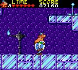 Astérix and the Secret Mission Game Gear Ice level