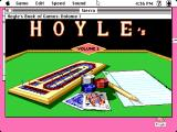 Hoyle: Official Book of Games - Volume 1 Macintosh Title screen