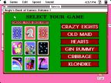 Hoyle: Official Book of Games - Volume 1 Macintosh Choose your game
