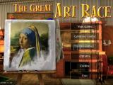 The Great Art Race Windows Title Screen