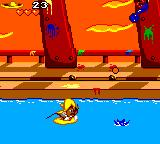 Cheese Cat-Astrophe starring Speedy Gonzales Game Gear Row, row, row your boat...