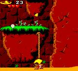 Cheese Cat-Astrophe starring Speedy Gonzales Game Gear You have to use a rope in this level.