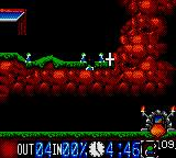 Lemmings Game Gear Digging Lemmings