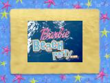 Barbie Beach Vacation Windows Title screen of the UK release