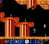 Lemmings Game Gear Floater Lemmings