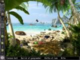 The Time Machine: Trapped in Time iPad Tropical island - objects