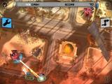 Anomaly: Warzone Earth HD iPad Alien towers attacking squad