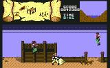 BraveStarr Commodore 64 At a ghost town