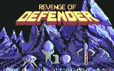 Revenge of Defender Commodore 64 Title screen (U.S. version)