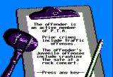 Crime and Punishment Apple II Examing the facts of a different case