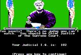 Crime and Punishment Apple II I redeem myself and now I'm ready to embark on my judical career