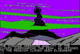 Ring Quest Apple II The typical dark castle at the top?