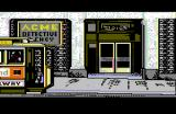 Where in America's Past is Carmen Sandiego? Apple II Arriving at the Acme Detective Agency.