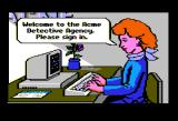 Where in America's Past is Carmen Sandiego? Apple II Welcome to Acme - please sign in.