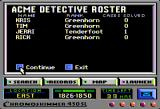 Where in America's Past Is Carmen Sandiego? Apple II Acme Detective Roster.