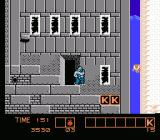 Karnov NES Grey building with K bonuses
