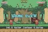 Berry Tree Game Boy Advance Game over