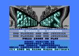 Battle Ships Atari 8-bit Title screen