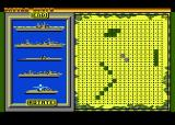 Battle Ships Atari 8-bit Setting up your fleet
