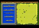 Battle Ships Atari 8-bit Aiming