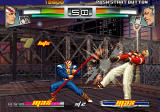 The King of Fighters: Neowave PlayStation 2 Billy hitting opponent