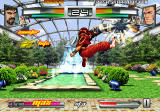 The King of Fighters: Neowave PlayStation 2 Jumping attack