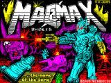 MagMax ZX Spectrum Loading screen. A timer counts down until the program is in memory.