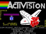 Space Shuttle: A Journey into Space ZX Spectrum Title screen