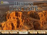 Herod's Lost Tomb iPad Title / main menu